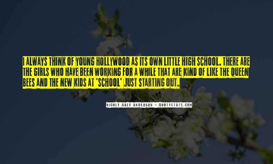 Quotes About Starting High School #664724