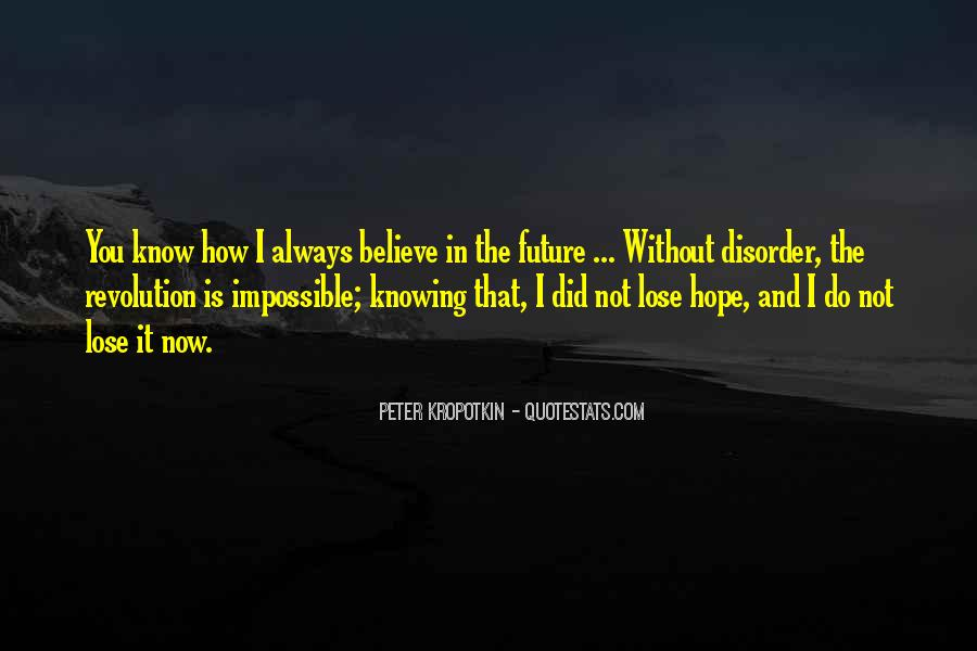 Quotes About Not Know The Future #222475