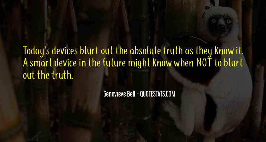 Quotes About Not Know The Future #239071