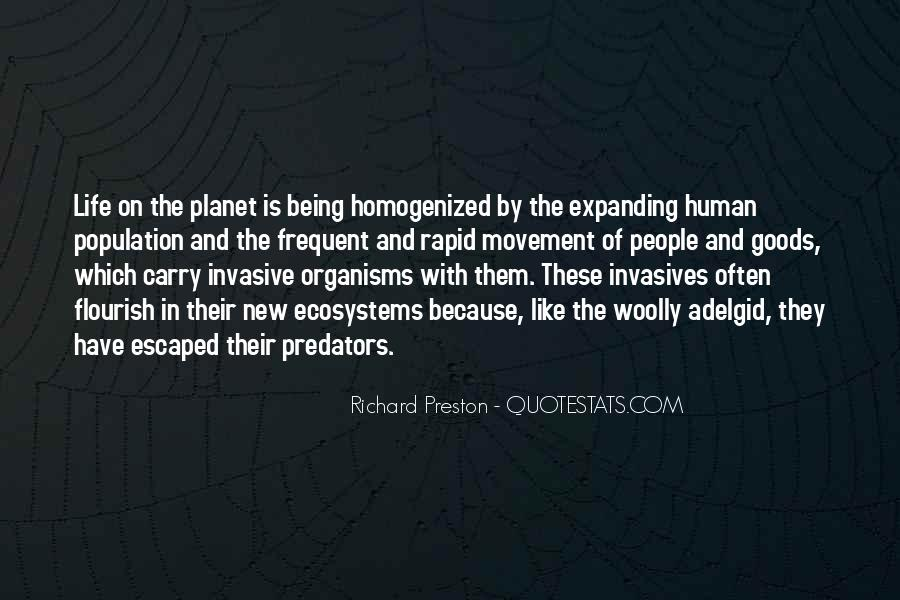 Quotes About Ecosystems #1101137
