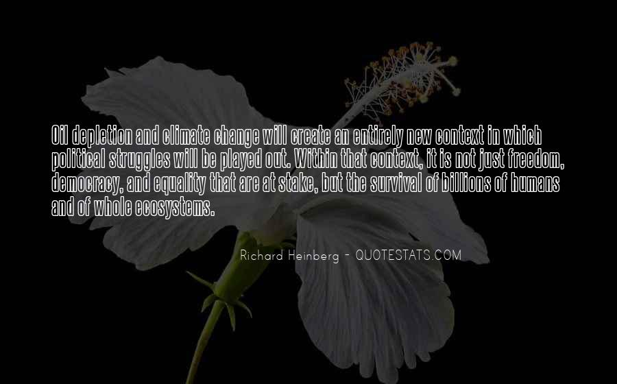 Quotes About Ecosystems #1103869