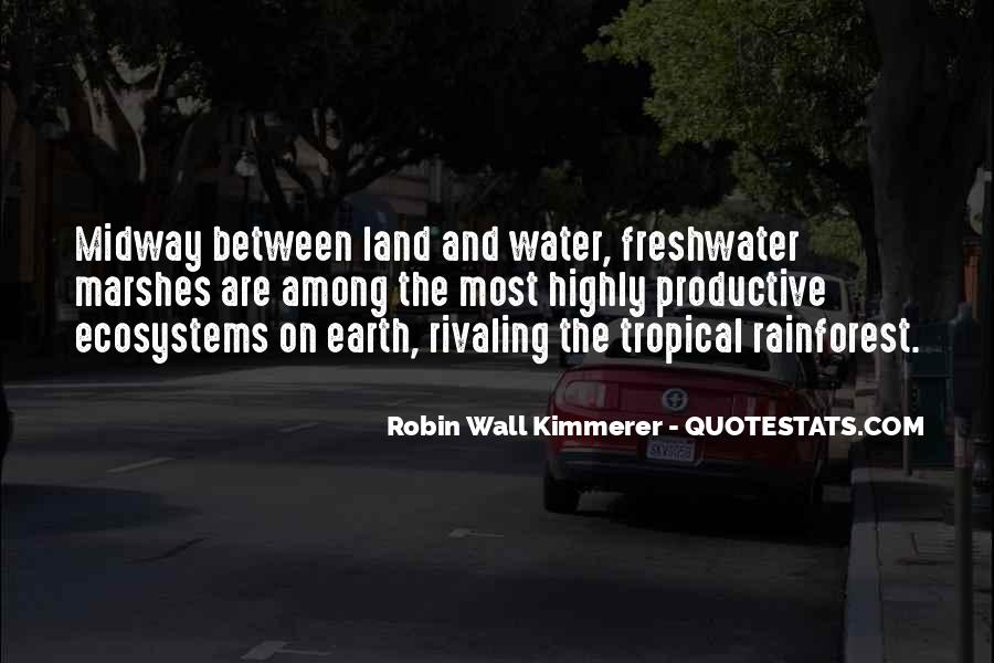 Quotes About Ecosystems #1220307