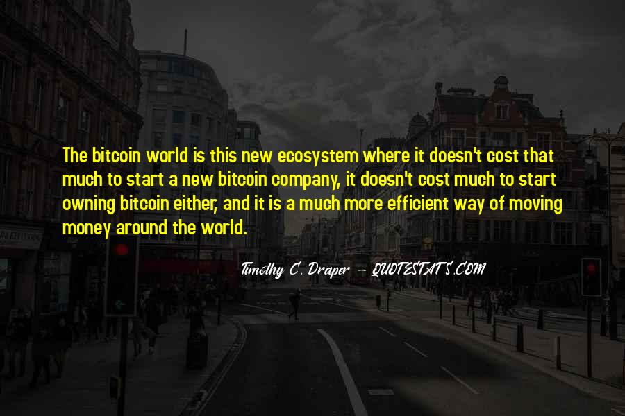Quotes About Ecosystems #1306426