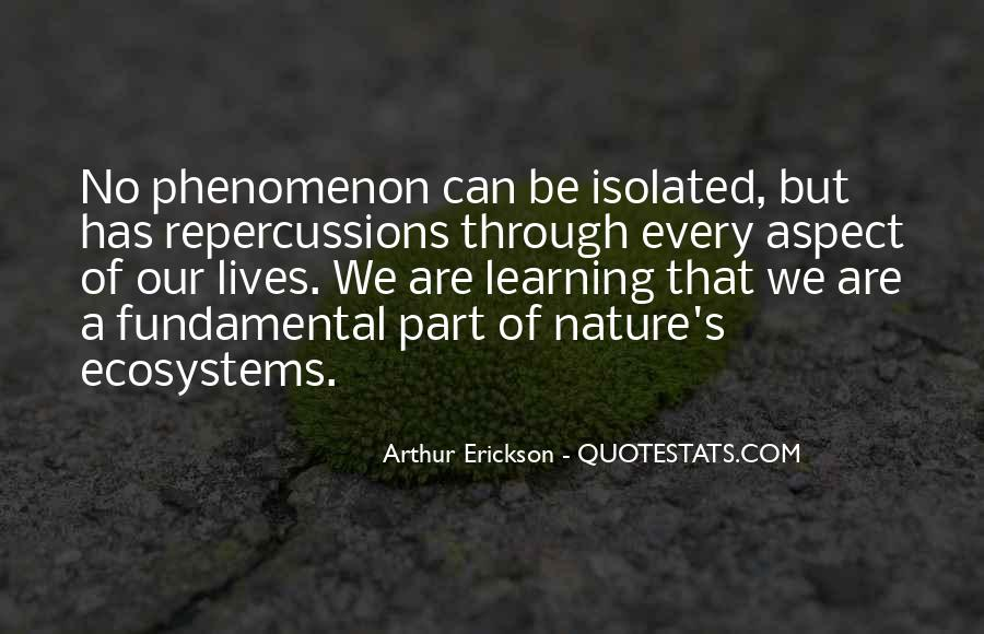 Quotes About Ecosystems #147163