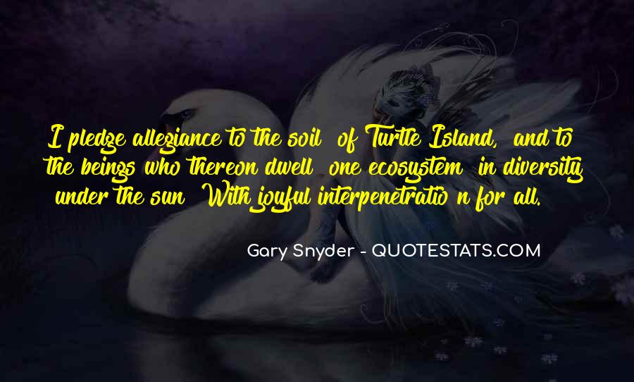 Quotes About Ecosystems #172108