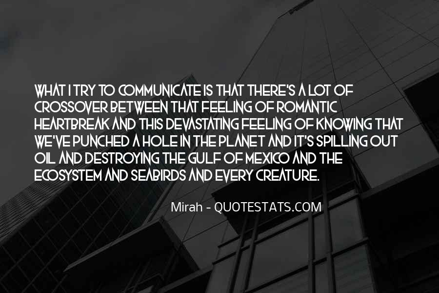 Quotes About Ecosystems #183119