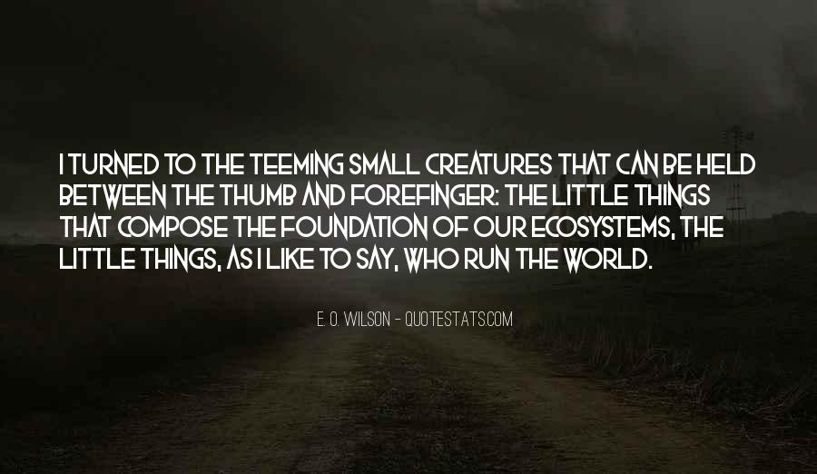 Quotes About Ecosystems #192123