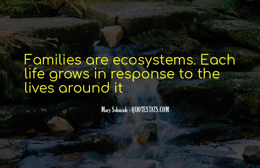 Quotes About Ecosystems #403312