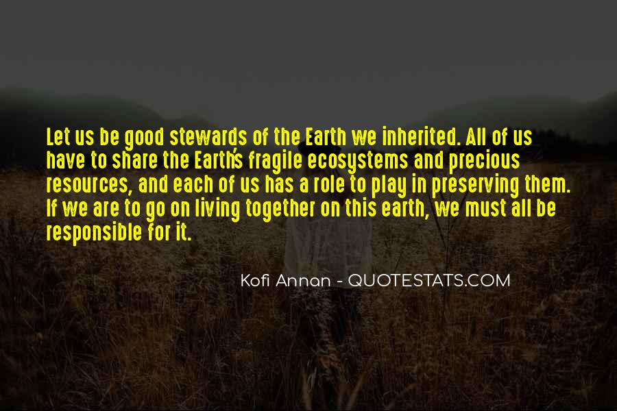 Quotes About Ecosystems #435500