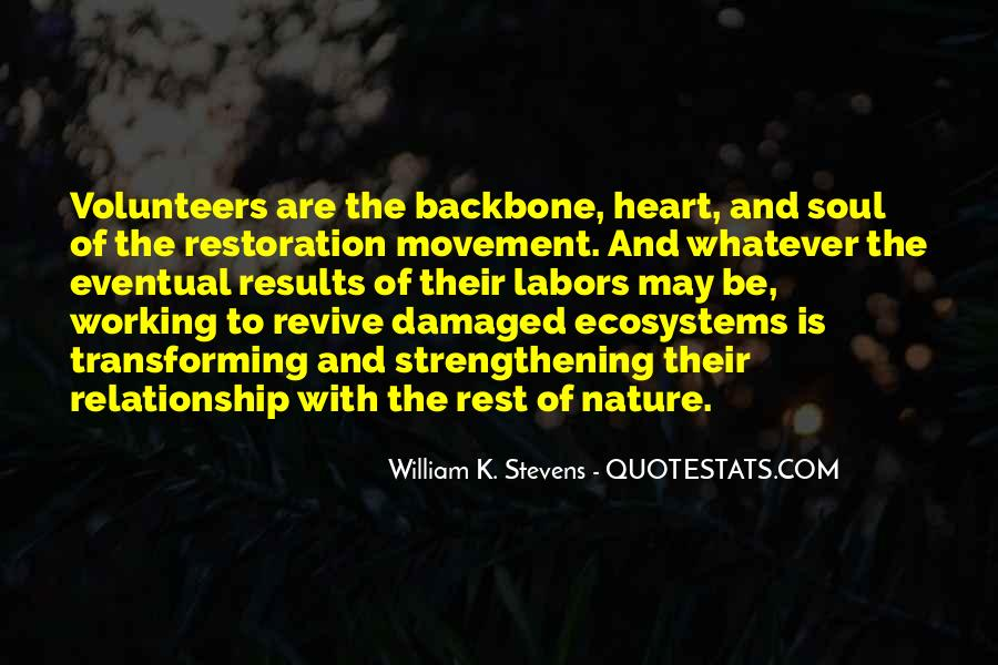 Quotes About Ecosystems #444460