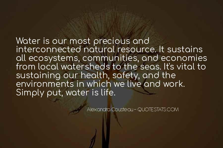 Quotes About Ecosystems #641793