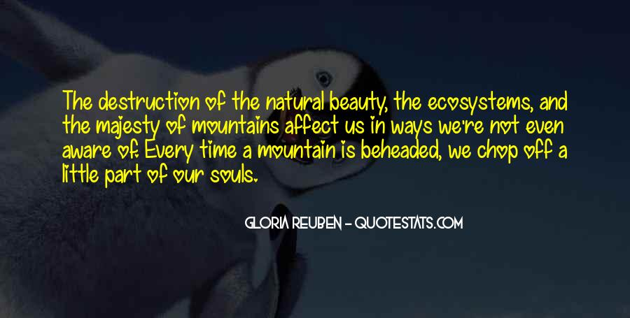 Quotes About Ecosystems #933546
