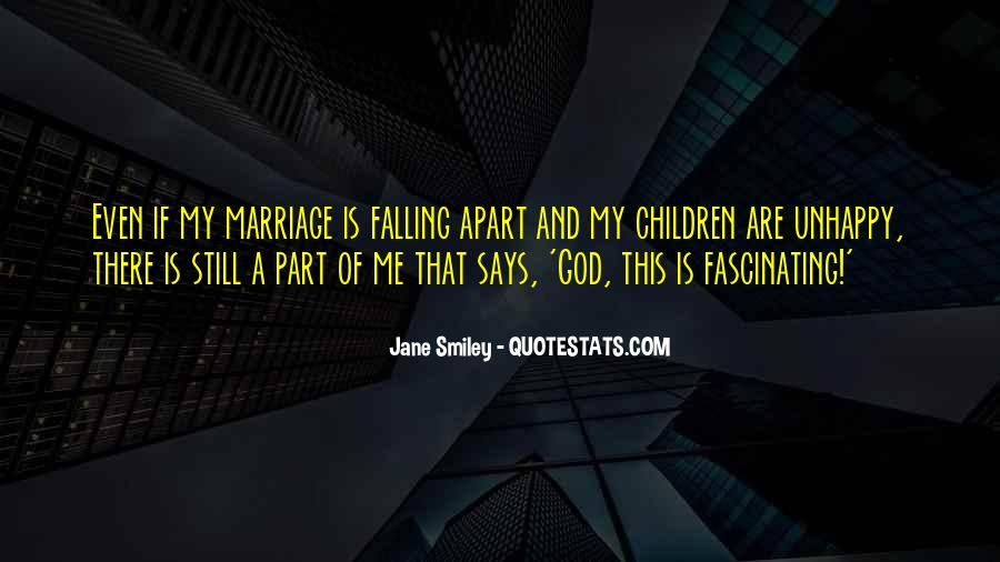 Quotes About A Marriage Falling Apart #1574601
