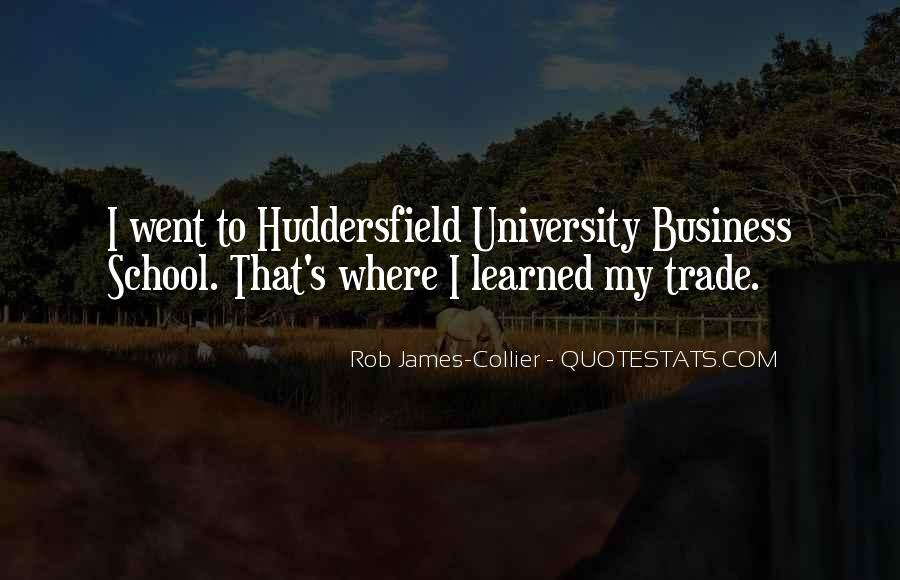 Quotes About Huddersfield #178515