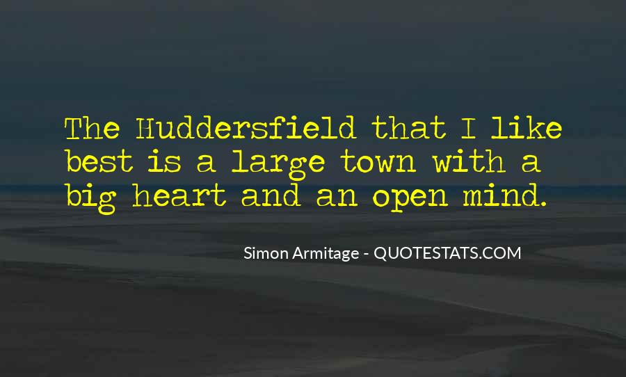 Quotes About Huddersfield #889018