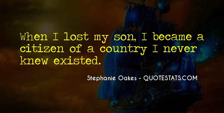 Quotes About Loss Of A Son #1622385