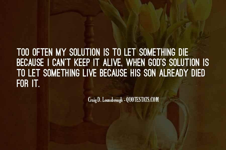 Quotes About Loss Of A Son #1847248