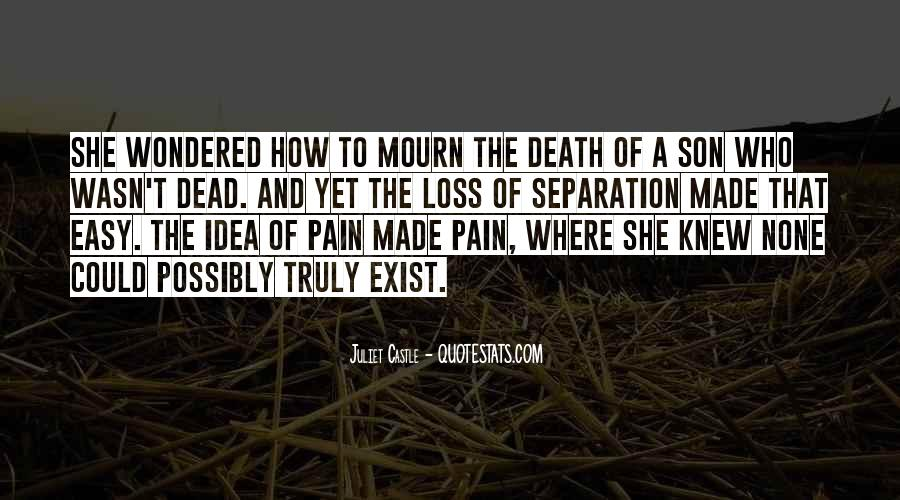 Quotes About Loss Of A Son #234290