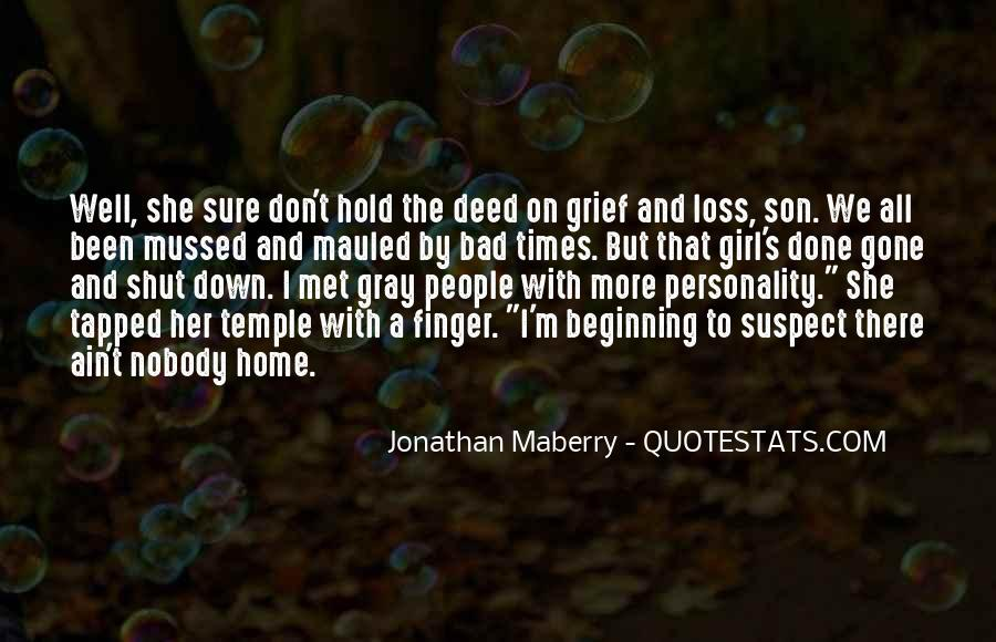 Quotes About Loss Of A Son #260800
