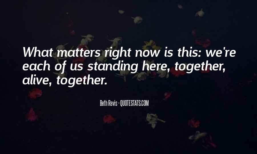Quotes About Family Standing Together #203639