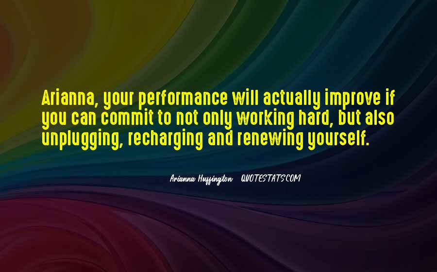 Quotes About Recharging Yourself #427709