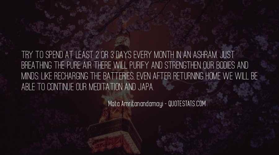 Quotes About Recharging Yourself #89354