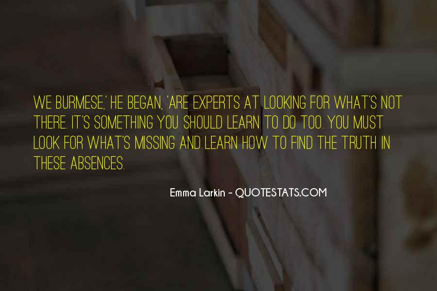 Quotes About Absences #1217683