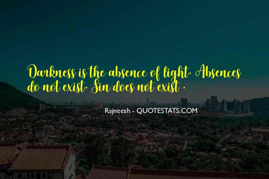 Quotes About Absences #1626319