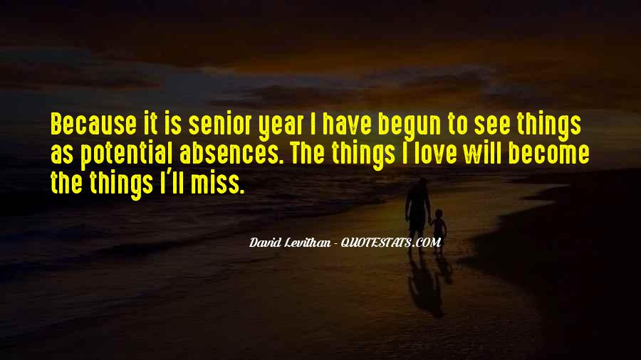 Quotes About Absences #522561