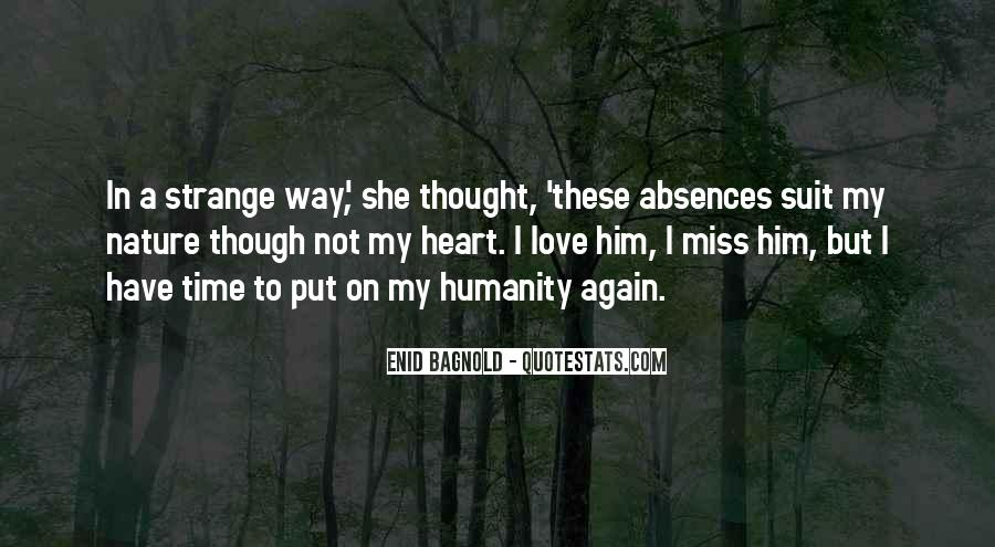 Quotes About Absences #766168