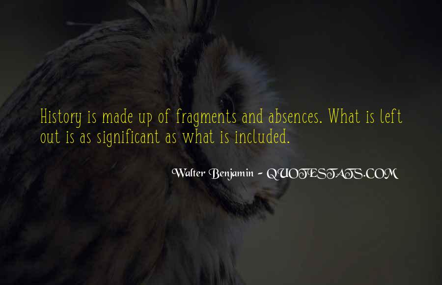 Quotes About Absences #770011
