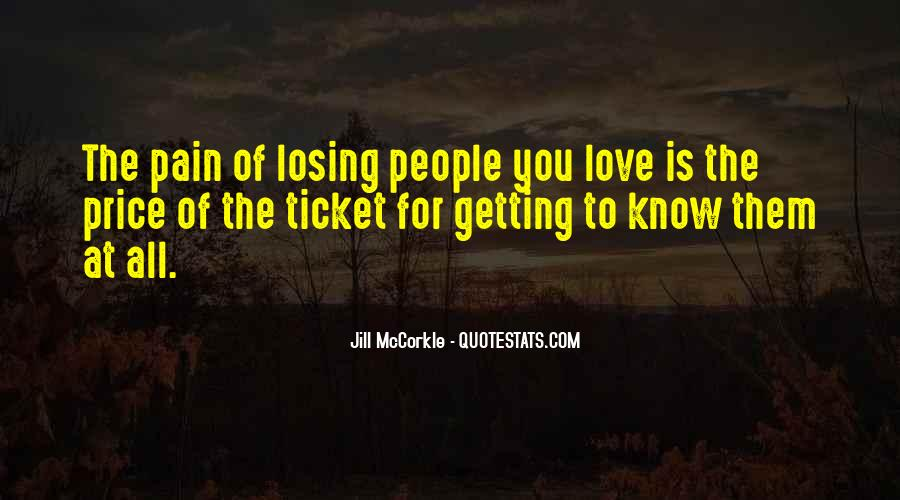 Quotes About Love Is Pain #131842