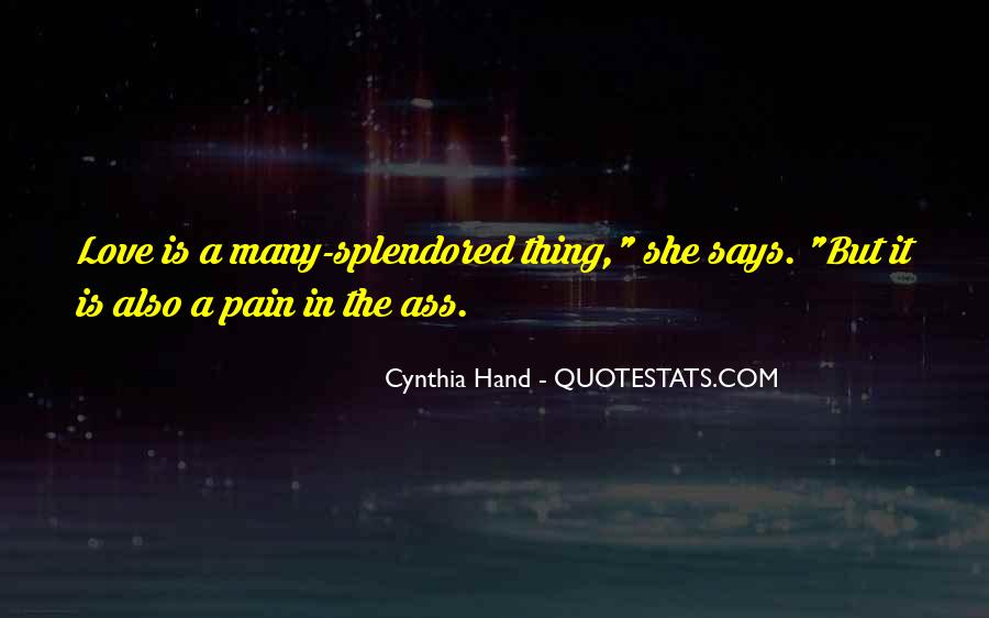 Quotes About Love Is Pain #146514