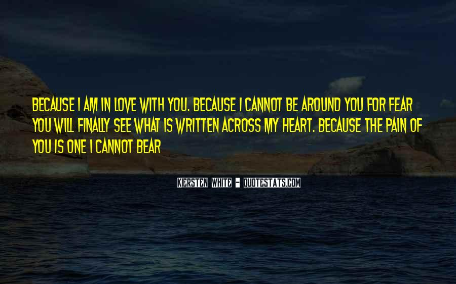 Quotes About Love Is Pain #18010