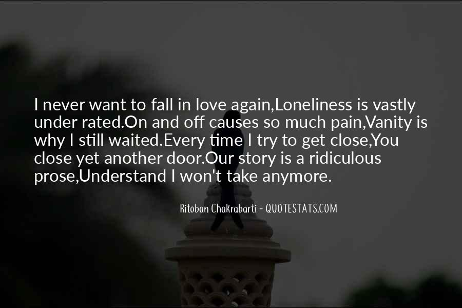 Quotes About Love Is Pain #207791