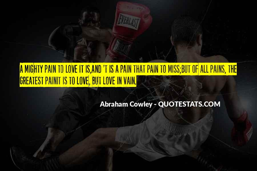 Quotes About Love Is Pain #21838