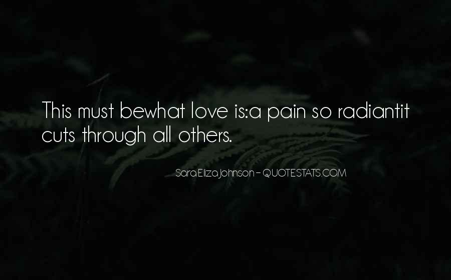 Quotes About Love Is Pain #219123