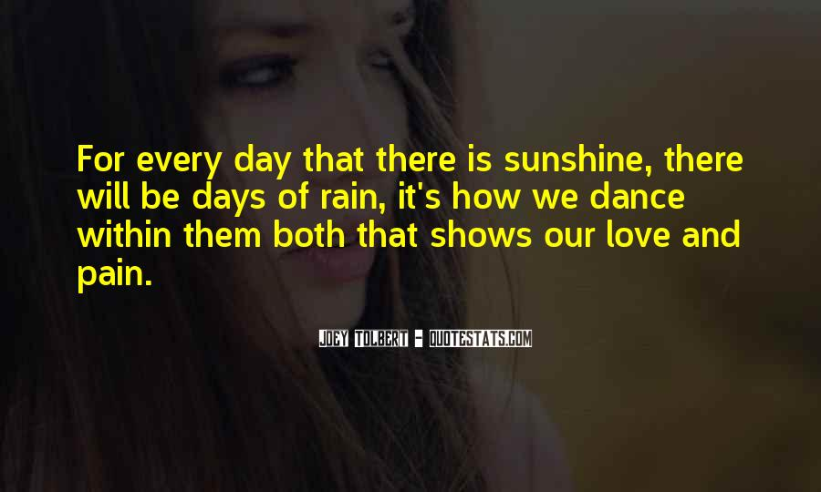 Quotes About Love Is Pain #70722