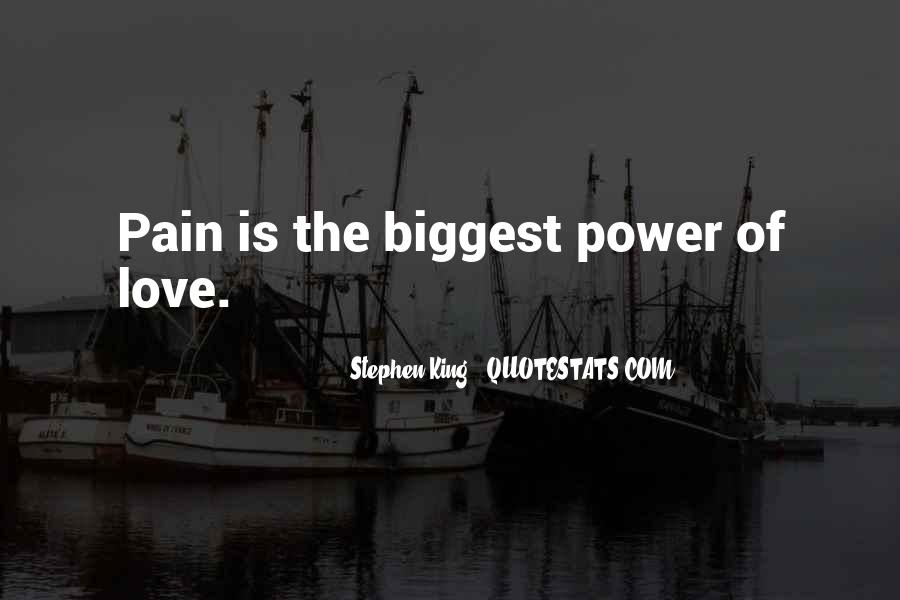 Quotes About Love Is Pain #89687