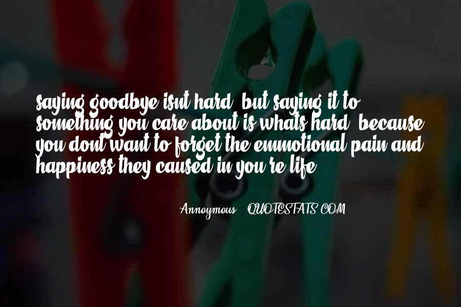 Quotes About Love Is Pain #91655