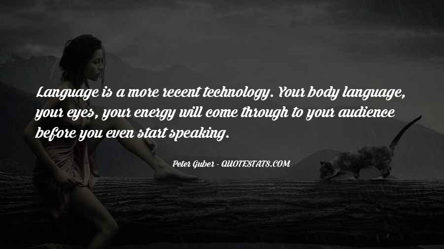 Quotes About Recent Technology #513902
