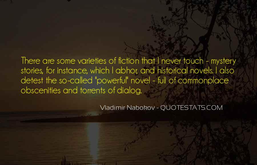 Quotes About Mystery Stories #1102140