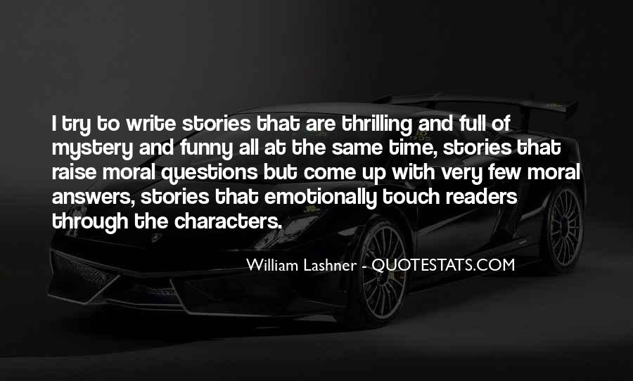 Quotes About Mystery Stories #1243629