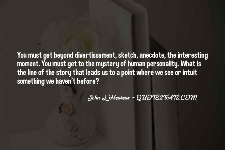 Quotes About Mystery Stories #1846841