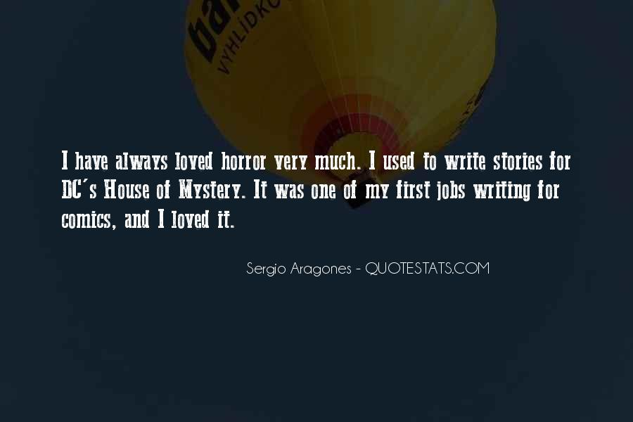 Quotes About Mystery Stories #718773