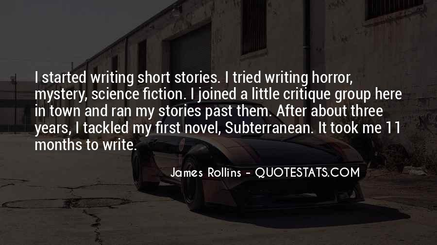 Quotes About Mystery Stories #954947
