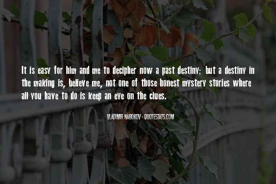 Quotes About Mystery Stories #961721