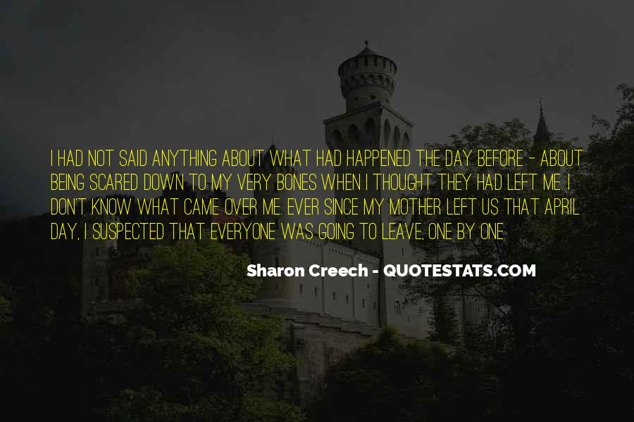 Quotes About Being Scared Of Change #1312361
