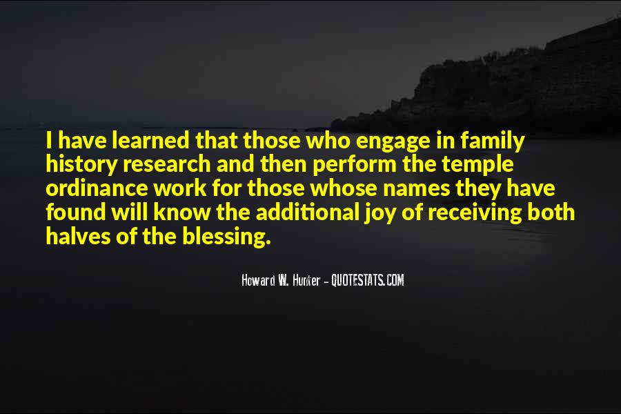 Quotes About Receiving A Blessing #1355431