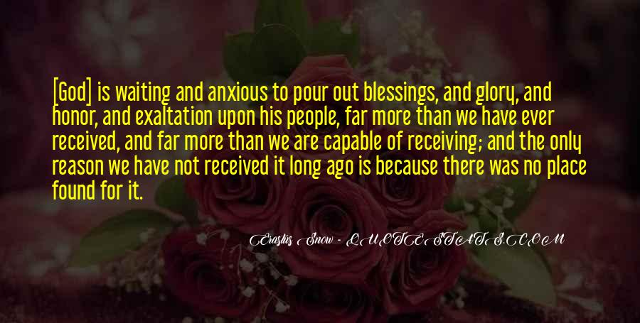 Quotes About Receiving A Blessing #250901